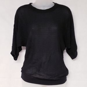 3/$25 Massimo Ribbed Quarter Sleeve Top